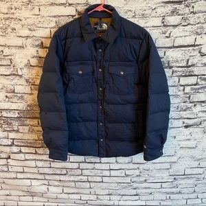 The North Face Quilted Button Up Puffer Jacket